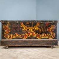 'Free Gardens Society' Painted Chest (2 of 10)