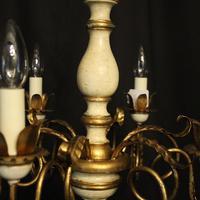 Florentine 6 Light Polychrome Chandelier (4 of 10)