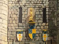 """Fine Oil Painting Architectural Entrance """"Micklegate Bar"""" York Signed F Chilton (3 of 31)"""