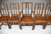 Set 5 Arts & Crafts Dining Chairs (2 of 12)