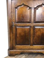 Early 20th Century Oak Corner Cupboard (8 of 8)