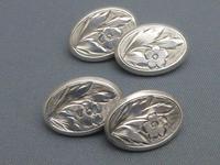 Silver Victorian Cufflinks (5 of 6)