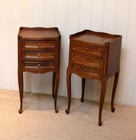 Pair of French Oak Bedside Cabinets (5 of 9)