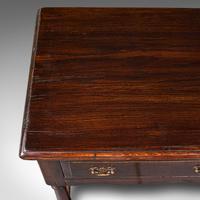Antique Dresser Base, English, Oak, Side, Hall, Table, Late Georgian c.1800 (9 of 10)