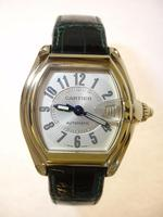 Cartier Extra Large 18ct Gold Roadster Wristwatch (6 of 6)