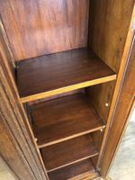 19th Century Antique Oak Breakfront Glazed Bookcase (6 of 15)