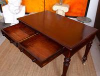 Desk Writing Table Mahogany 19th Century Victorian (3 of 11)