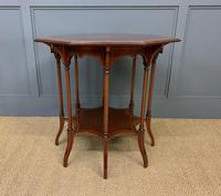 Edwards & Roberts Inlaid Mahogany Centre Table (2 of 15)