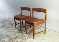 1970's G Plan mid century extending dining table and 4 dining chairs (6 of 6)