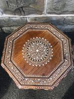 Antique Anglo Indian Hoshiarpur Folding Coffee Table (3 of 5)
