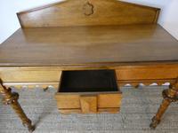 Scottish 19th Century Oak Hall Table (9 of 10)
