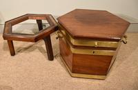 George III Octagonal Wine Cooler on Stand (6 of 6)
