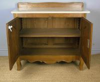Antique Oak Marble Top Cabinet / Washstand (5 of 6)