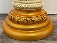 Dutch Golden Age Style Gilt Harvest Relief Plinth Display Torcheres (67 of 87)