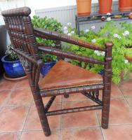 Country Oak Turners Chair c.1860 (9 of 11)