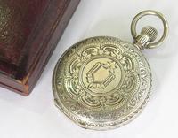Small Silver Waltham Royal Hunter Pocket Watch (2 of 6)