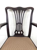 Pair of 19th Century Chippendale Style Armchairs (6 of 11)