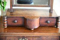 Antique Mahogany Toilet Mirror (9 of 11)