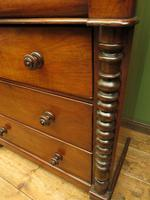 Antique Scottish Style Mahogany Chest of Drawers, Country House Chest (3 of 19)