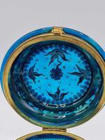 Antique 19th Century Moser Glass Enamel Box (8 of 11)