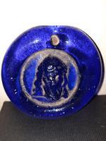 15th / 16th Century Renaissance Venetian Cobalt Christ Pendant (8 of 9)