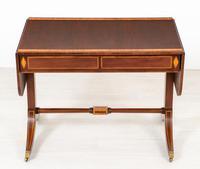Mahogany Regency Style Sofa Table (10 of 10)