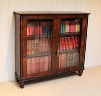 Victorian Rosewood Glazed Bookcase (4 of 10)