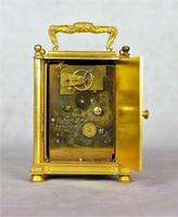 English Fusee Carriage Clock - James Voak of London (4 of 6)
