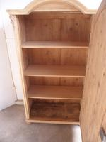 Great Arched Art Deco Pine Multi Functional Cupboard to wax / paint (10 of 10)