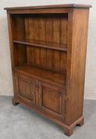 Good Quality Oak Open Bookcase (10 of 11)