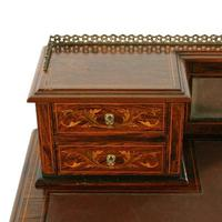 Maple & Co Rosewood Writing Table (8 of 8)