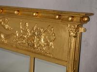 A Very Good Regency Period 3 Section Giltwood Mirror (3 of 4)