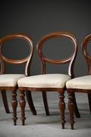 Set 4 Victorian Style Dining Chairs (8 of 11)