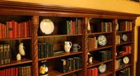 Important Gothic Revival Oak Open Bookcase - 19th Century - France (6 of 11)