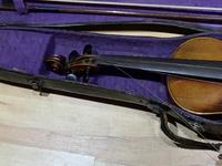 Violin & Case with Bow Victorian (4 of 12)