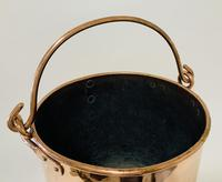 Antique Riveted Copper Bucket (13 of 14)