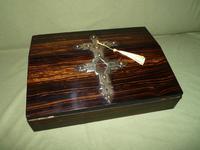 Quality Betjemann Coromandel Writing Box c.1870 (4 of 15)