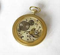 1930s Art Deco pocket watch, super sunburst dial (3 of 4)