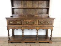 Early 20th Century Antique Oak Pot Board Welsh Dresser (2 of 18)