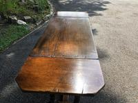 Antique Carved Oak Hall Side Table (8 of 11)