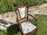 Edwardian Elbow Carver Chair (3 of 4)