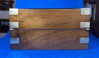 Victorian  Walnut Brassbound Writing Slope (8 of 19)