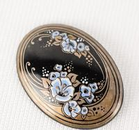 Michaela Frey Art Nouveau Style Brooch (3 of 3)