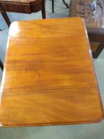 Victorian Mahogany Pembroke Table with Two Drawers (4 of 7)