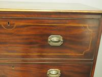 Inlaid Mahogany Secretaire Chest of Drawers (7 of 13)