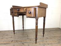 Antique Victorian Mahogany Ladies Writing Desk (12 of 17)