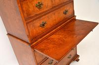 Antique Burr Elm Chest on Chest of Drawers (7 of 10)