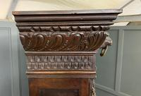 Imposing Carved Oak Bookcase (19 of 23)