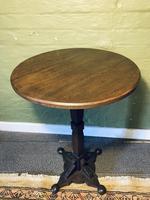 Arts & Crafts Pedestal Table (6 of 9)