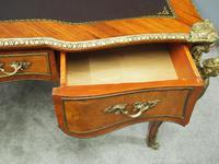 Large French Walnut Bureau Plat / Writing Table (13 of 16)